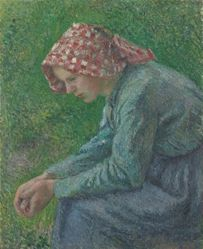 A Seated Peasant Woman