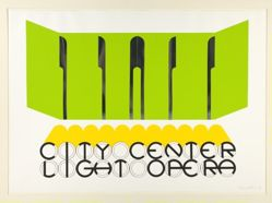 City Center Light Opera, from the portfolio Seven Serigraphs by Seven Artists