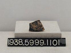 Black ceramic sherd