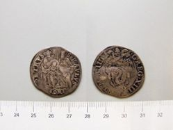 Coin of Pope Gregory XIII from Rome