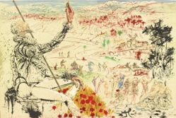 Don Quixote, with an Acorn, Evokes a Vision of the Golden Age