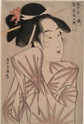 Kasugano of Sasa-ya (House of Bamboo grass) :  Beauties of the gay quarters