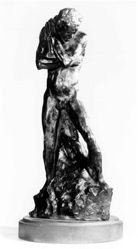 Figure of a Standing Man, study for The Gates of Hell
