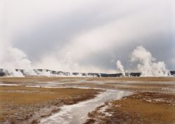 Untitled (Distant Steam Vents) Yellowstone National Park