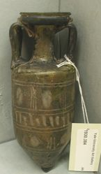 Amphora-shaped Flask