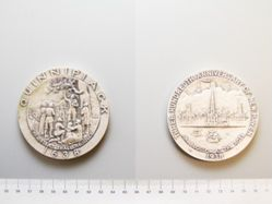 Silver medal of 300th Anniversary of New Haven, CT