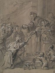 St. Francis of Paula Feeding the Poor