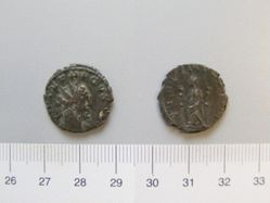 Antoninianus of Tetricus I, Emperor of the Gallic Empire from Unknown