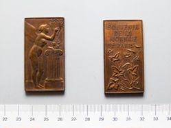 French Plaquette Souvenir of Paris Mint