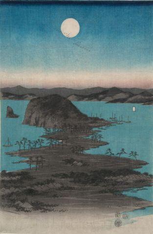 Kanazawa in Moonlight (Buyo Kanazawa Hassho Yakei)