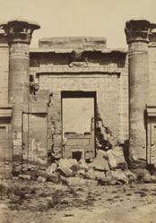 Medinet Habu: Roman Columns