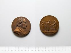Bronze Medal from Austria of Dr. Joseph Weinlechner