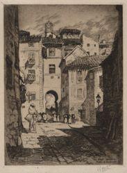 Street Leading to Plaza de Zocodover, Toledo