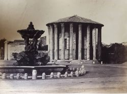 Untitled (Temple of Fortuna Virilis)