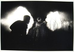 Soviet Solider Firing Captured German Panzerfaust at Night, from The Great Patriotic War, Vol. I