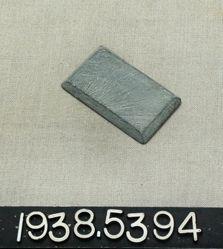 Bevelled stone slab