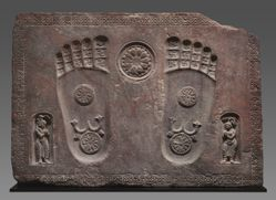 Footprints of the Buddha (Buddhapada)