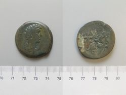 Copper of Marcus Aurelius as Caesar from Alexandria