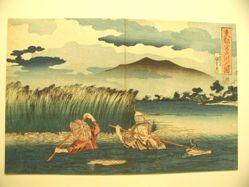 Miyatogawa no zu (Picture of Miyatogawa).