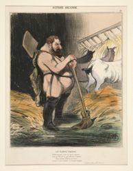 Les Ecuries D'Augias. Se faire recureur pour un heros superbe, from Histoire Ancienne