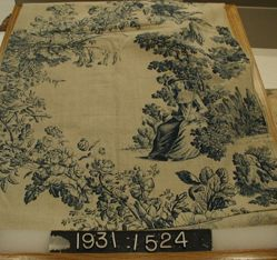 Length of printed cotton