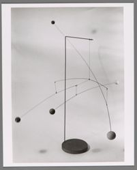 "Photograph of Alexander Calder's ""Mobile,"" ca. 1935 [Guggenheim Museum] -- from Katherine S. Dreier's private collection"