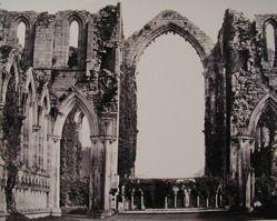 Interior, Fountains Abbey