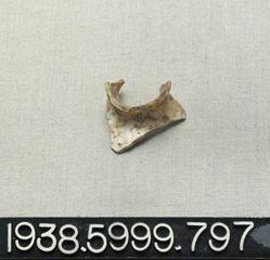 Flask shoulder fragment