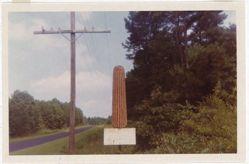 Corn Sign Between Greensboro and Marion