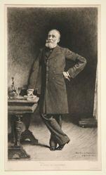 Portrait of Pierre Puvis de Chavannes