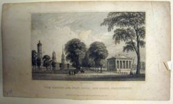 Davis' View of Yale College and the State House