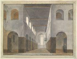 Interior of St. Janskerk, Utrecht