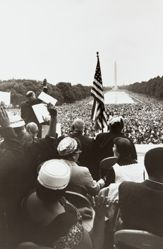 Mordecai Johnson (at podium), from the series Prayer Pilgrimage for Freedom