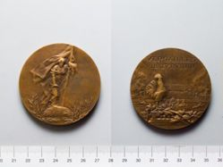 Medal from France Commemorating the Treaty of Versailles, June 28, 1919