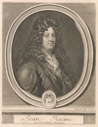 Gérard Edelinck, Jean Racine, from the book Les hommes illustres . . . , vol. II, by Charles Perrault