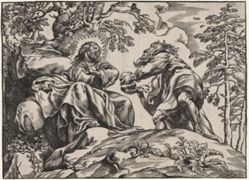 The Temptation of Christ, by the Devil