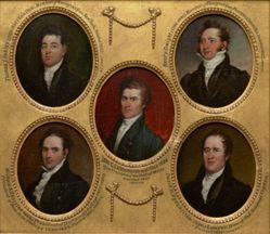 Thomas Jackson Oakley (1783–1857), B.A. 1801