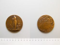 Belgian Medal: The Work of the Barbarians (L'Oeuvre des Barbares)