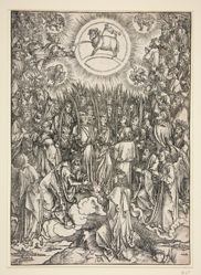 The Adoration of the Lamb, from The Apocalypse series