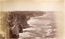 Cliff, South Head, Sydney, from the album [Sydney, Australia]