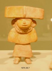 Female Figure with Wide-Band Headdress