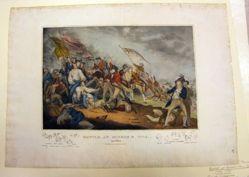 Battle at Bunker's Hill, June 17th, 1775