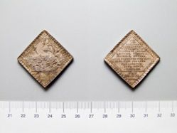 Silver Medal of Floods of 1717 and 1718