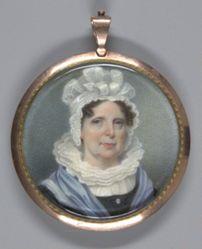 Mrs. Theodore Gourdin (Elizabeth Gaillard) (1766-1835); verso: Theodore Gourdin (1764-1826)