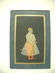 Portrait of Raja Surajmal of Bharatpur
