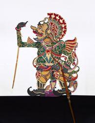 Shadow Puppet (Wayang Kulit) of Narada