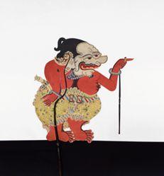 Shadow Puppet (Wayang Kulit) of Kalabendana or Galiuk, from the consecrated set Kyai Nugroho