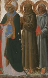 Saints Zenobius, Francis and Anthony of Padua