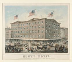 Hunt's Hotel...New York