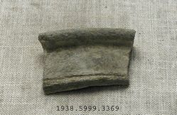 stone vessel fragment
